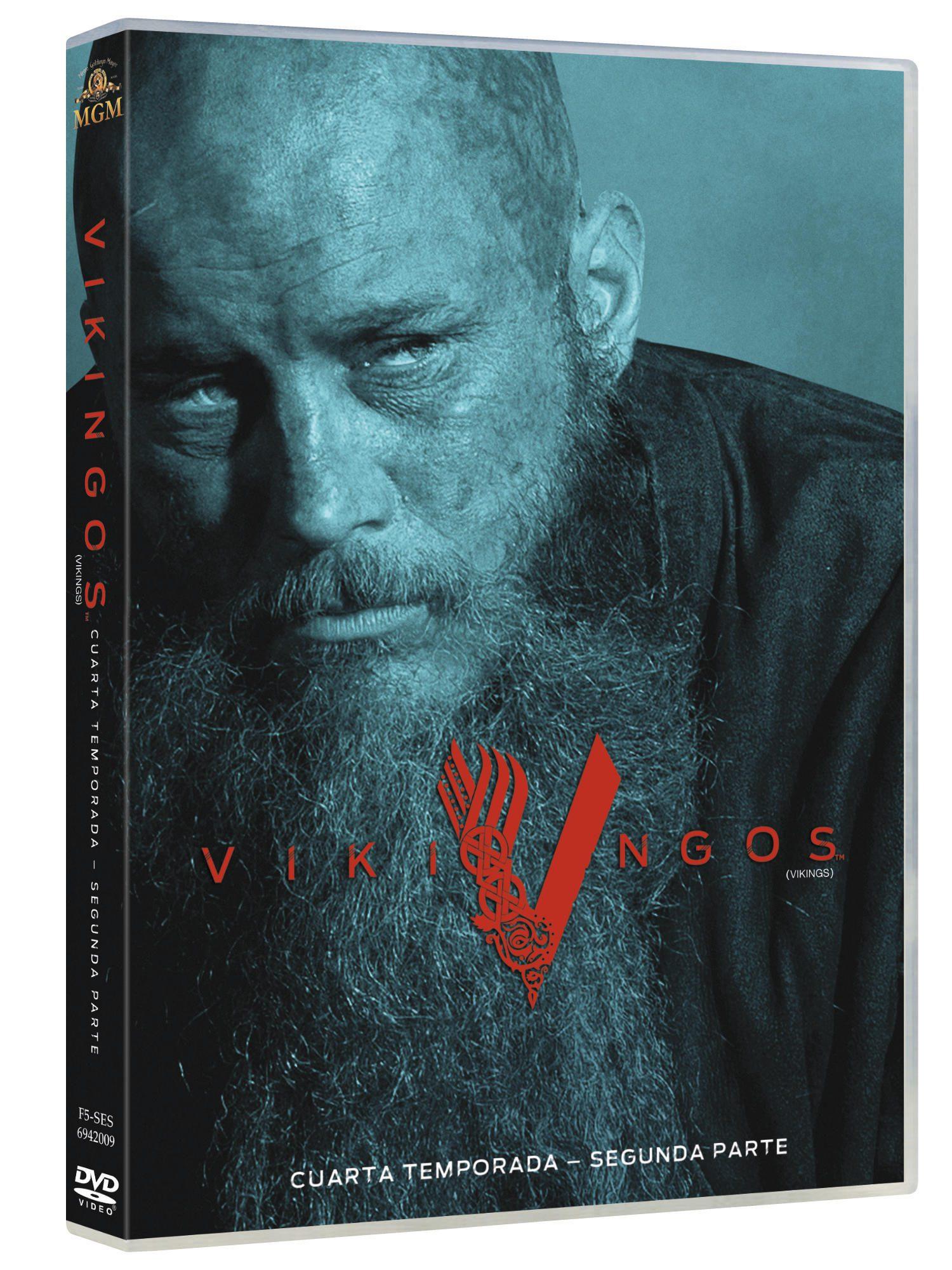 'Vikingos, Temporada 4 Parte 2' a la venta el 9 de agosto en Blu-ray y Dvd • En tu pantalla