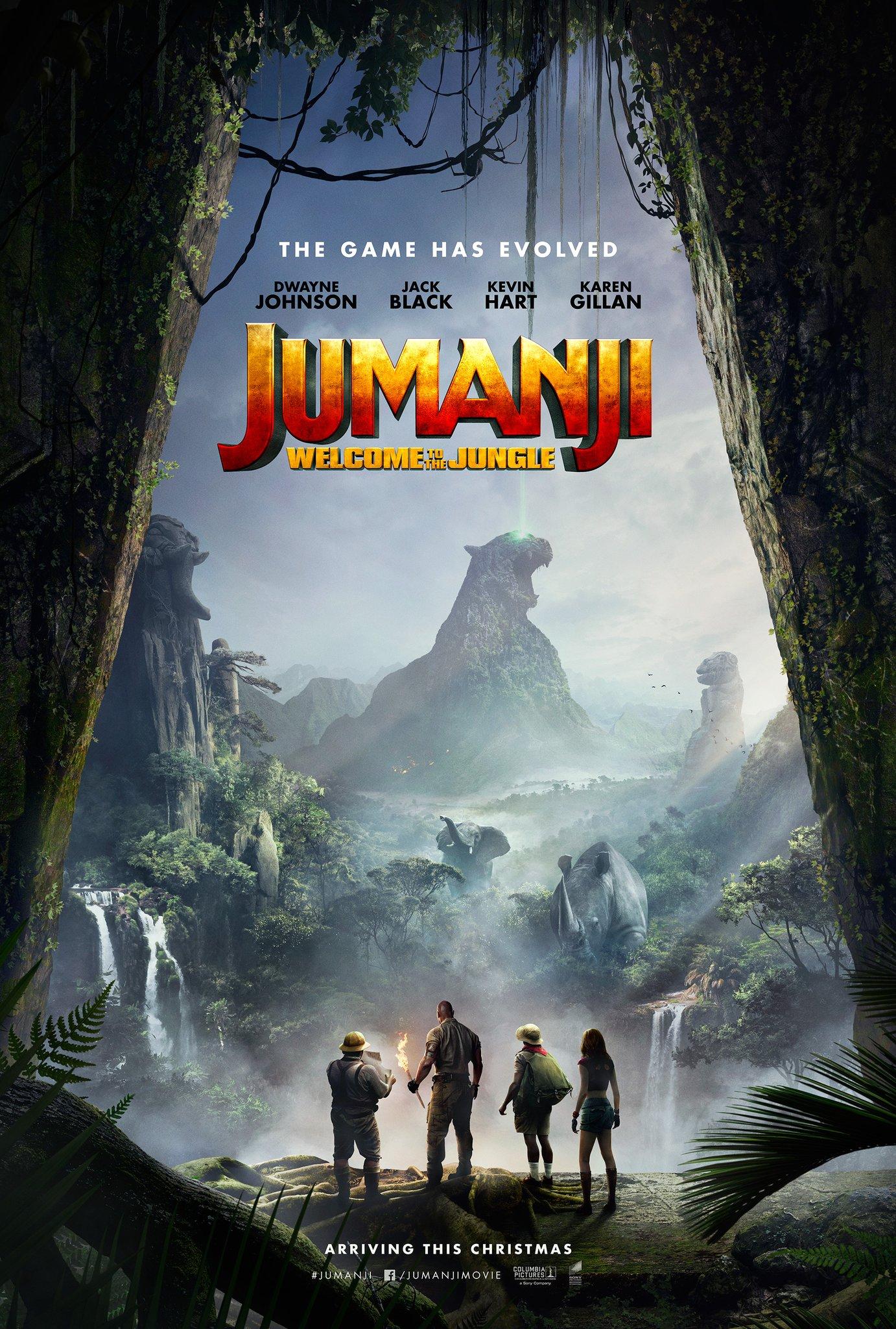 'Jumanji: Bienvenidos a la jungla' presenta su segundo tráiler • En tu pantalla