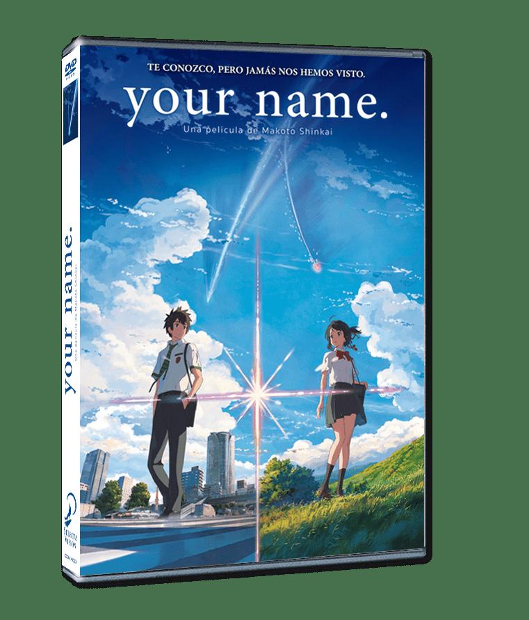 'Your Name' en Blu-ray y Dvd el 8 de noviembre de la mano de Selecta Visión • En tu pantalla