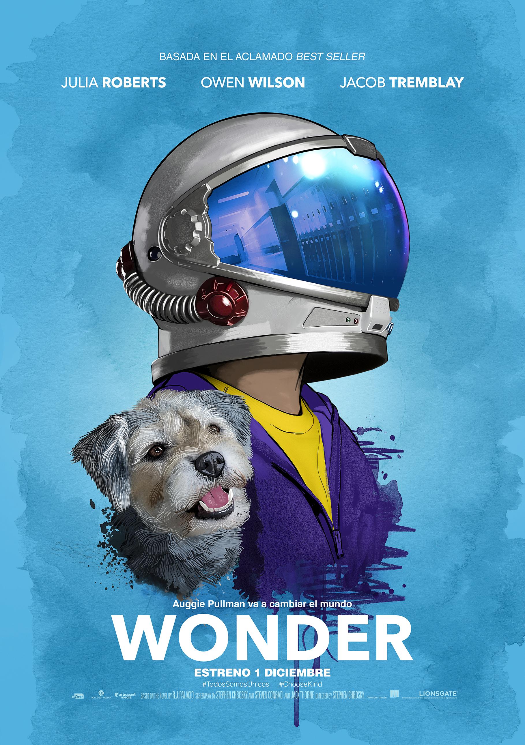 'Wonder': Los dos maravillosos pósters. ¡Enamorados! • En tu pantalla