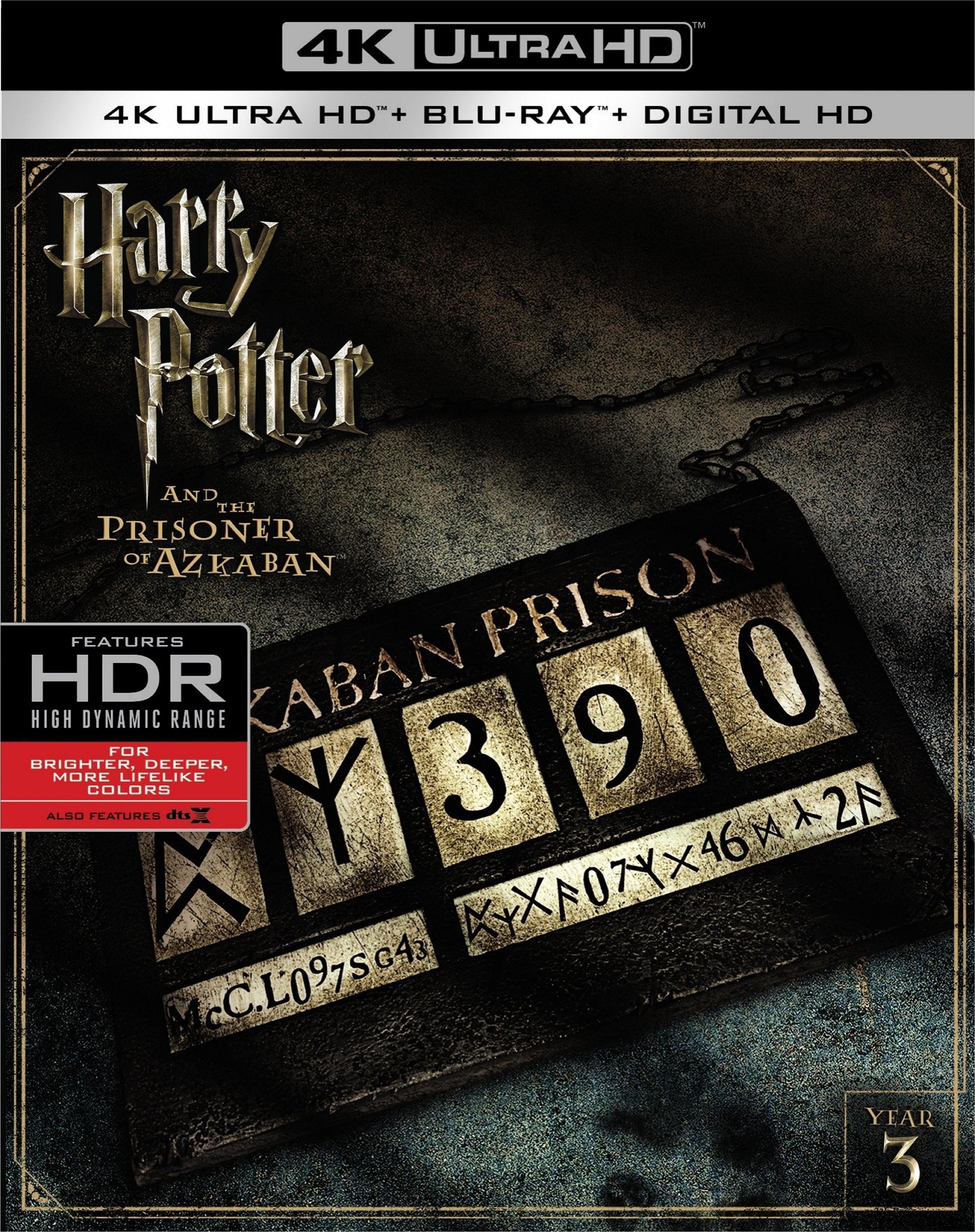'Harry Potter 1-4' en 4K Ultra HD el 29 de noviembre • En tu pantalla