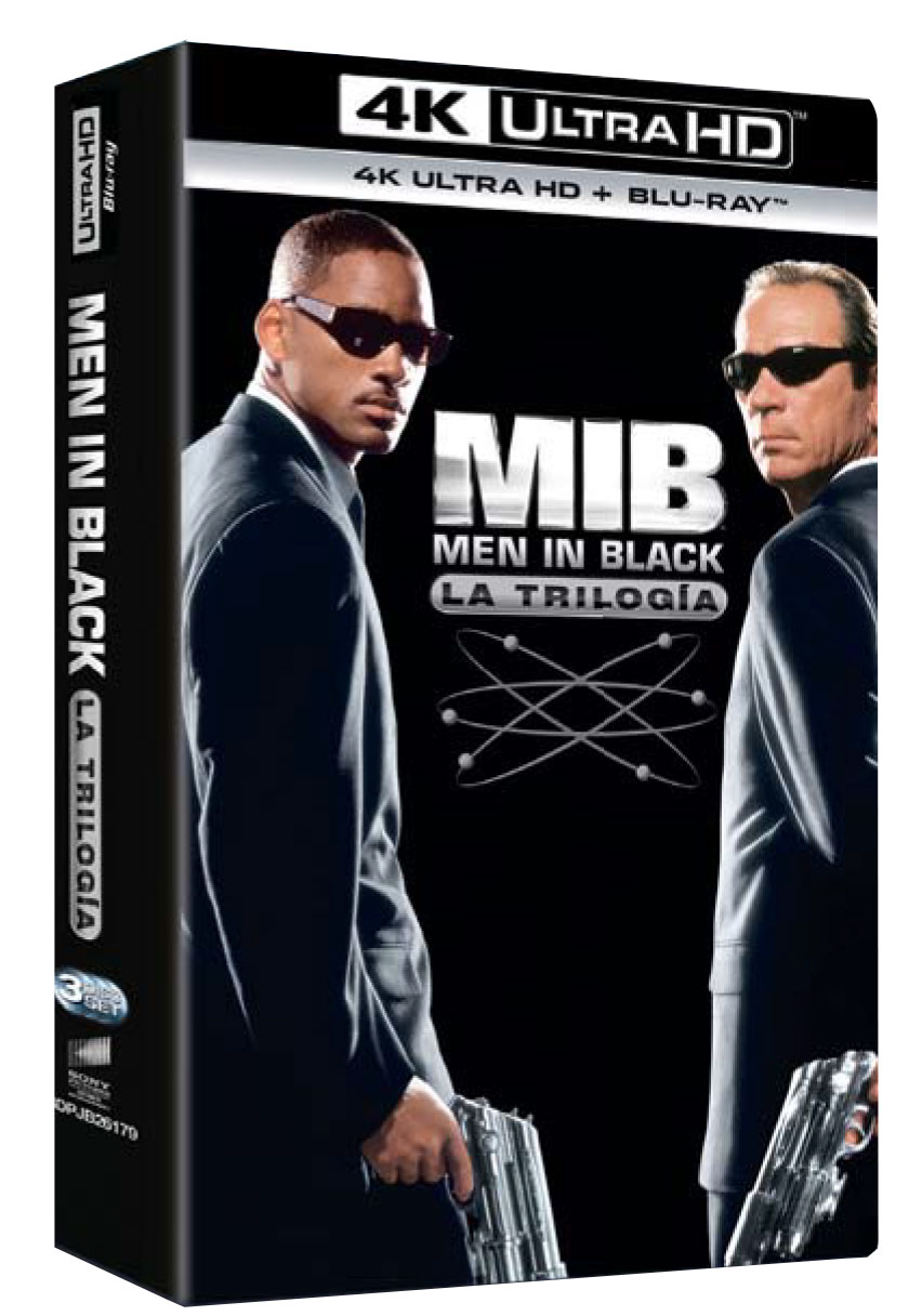 Men in black 4K Ultra HD