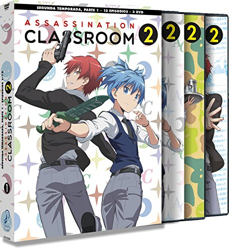 Assassination Classroom Temporada 2 Parte 1 en Dvd