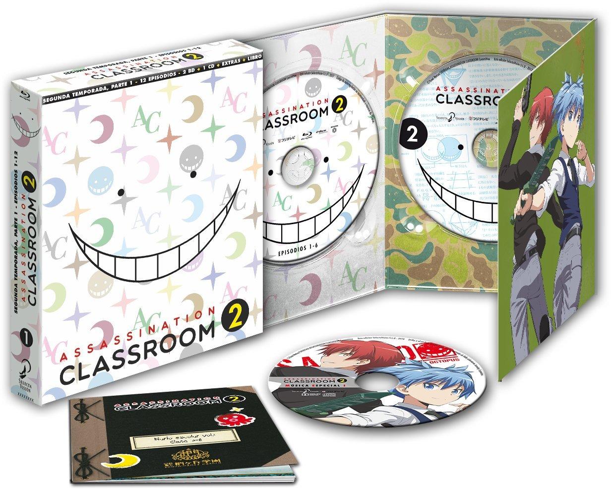 Assassination Classroom Temporada 2 Parte 1 en Blu-ray