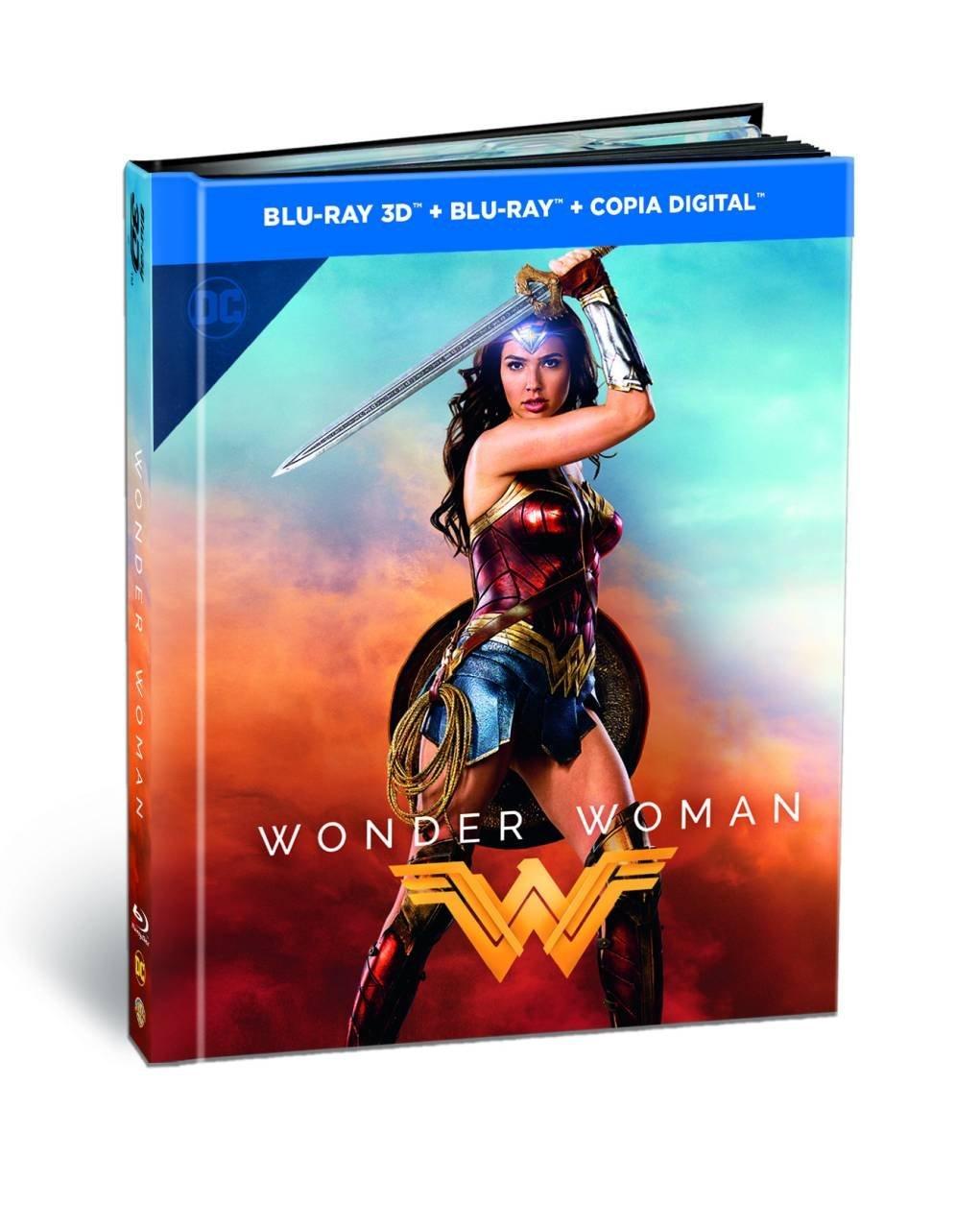 'Wonder Woman' llegará en 4K Ultra HD, Steelbooks, 3D, Blu-ray… el 13 de octubre • En tu pantalla