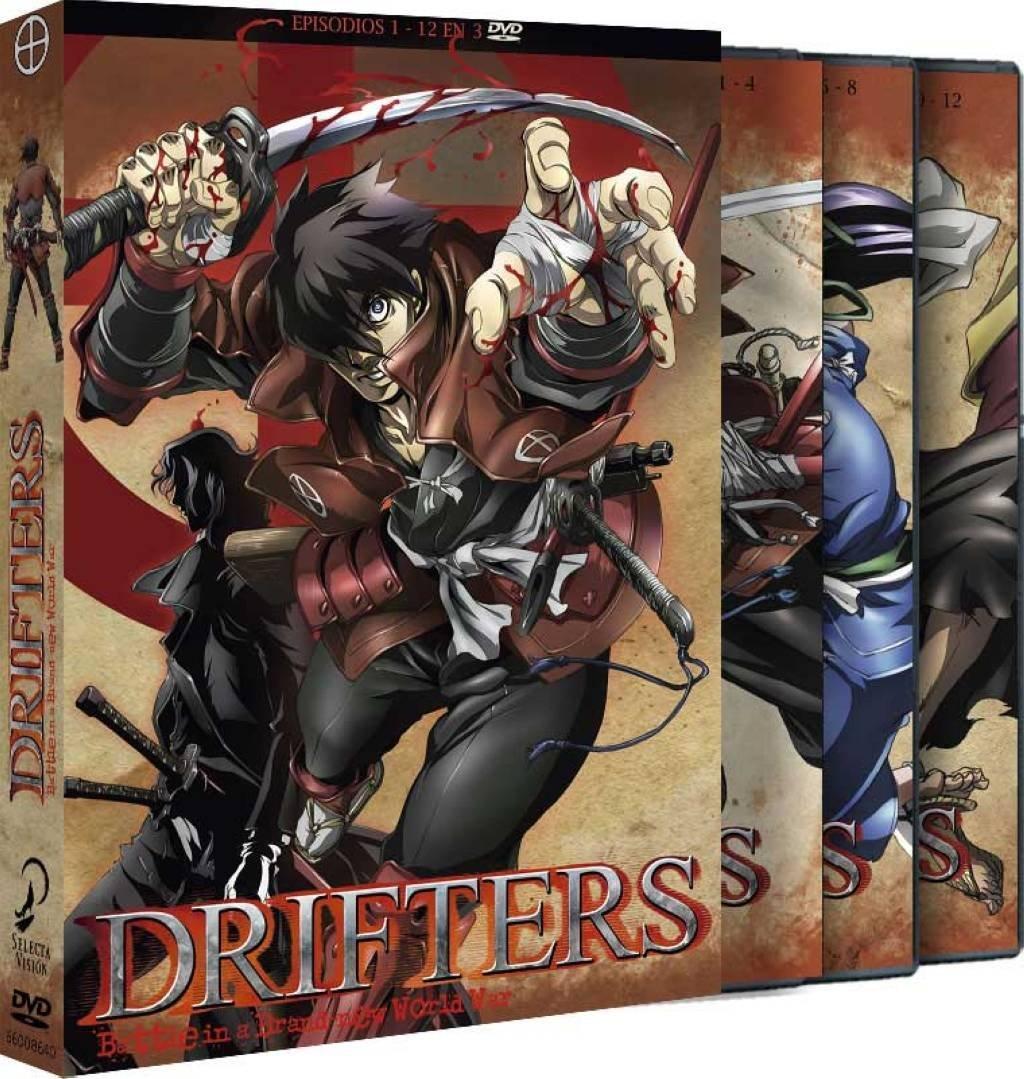Drifters Temporada 1 en Dvd