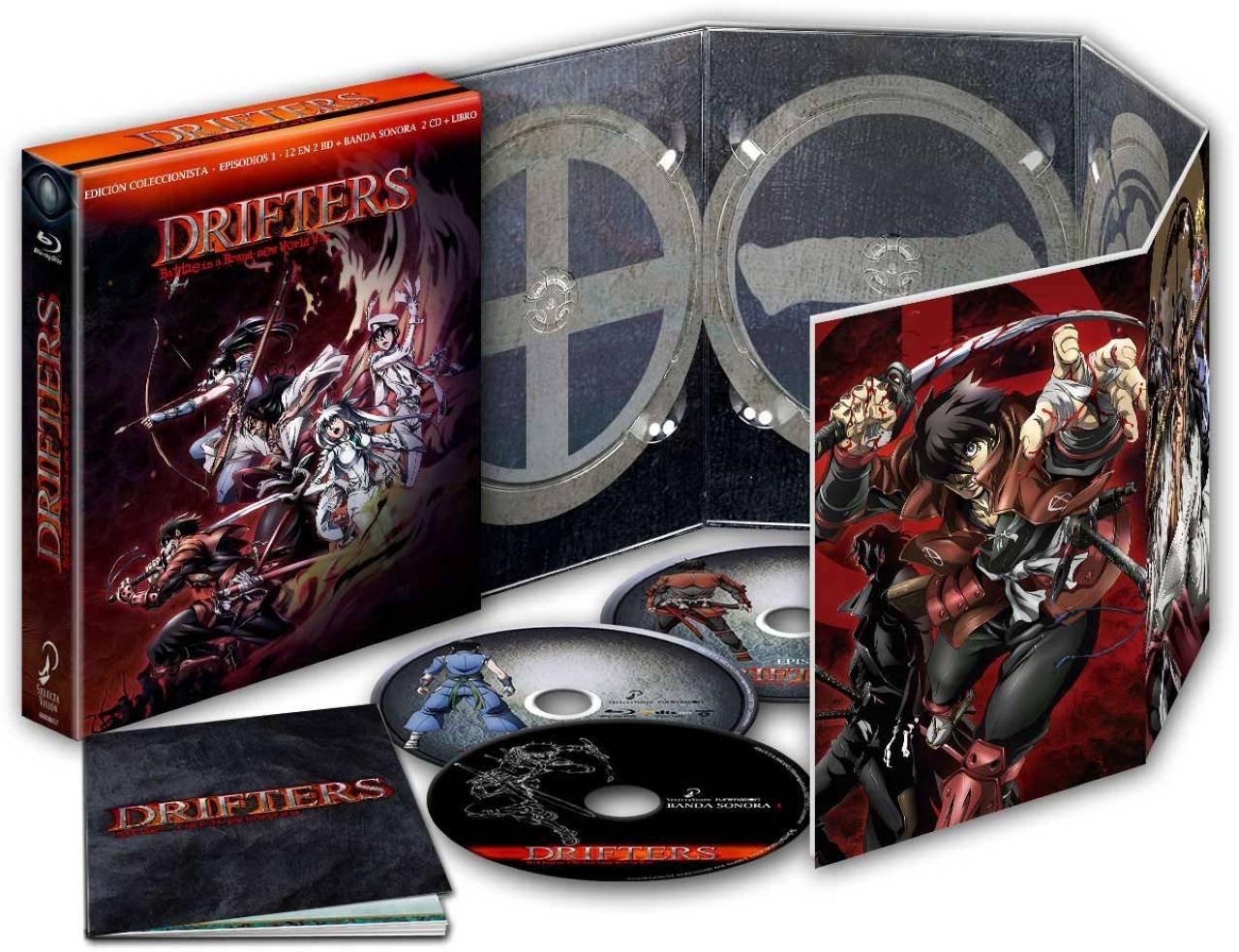 Drifters Temporada 1 en Blu-ray