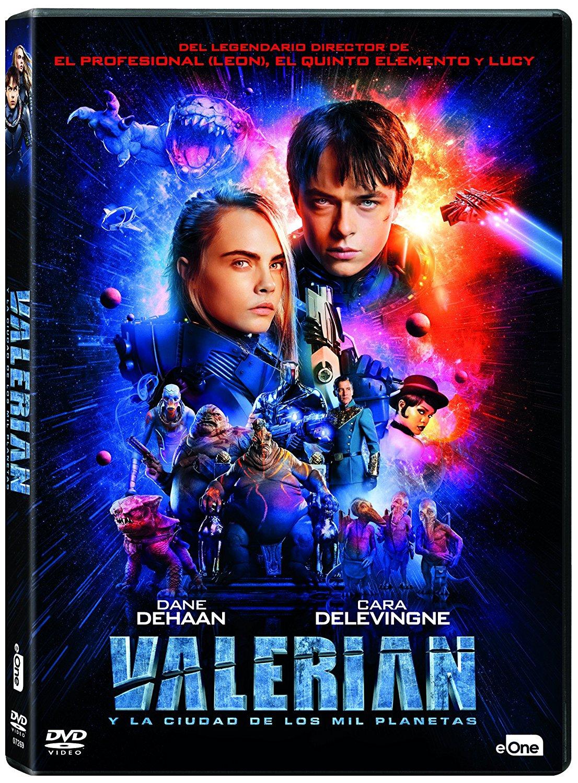 'Valerian y la ciudad de los mil planetas' llegará en 4K, Steelbook, 3D, Digibook... el 15 de diciembre • En tu pantalla