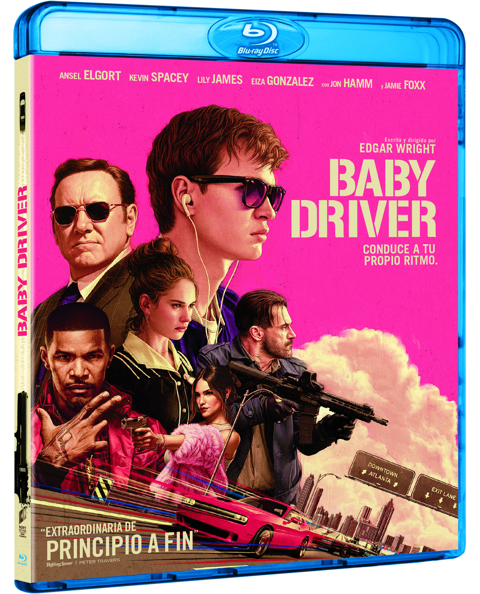 'Baby Driver' llegará el 1 de noviembre en 4K Ultra HD, Blu-ray y Dvd • En tu pantalla