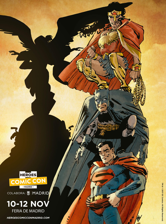 'Heroes Comic Con' llega a Madrid con las pilas cargadas • En tu pantalla