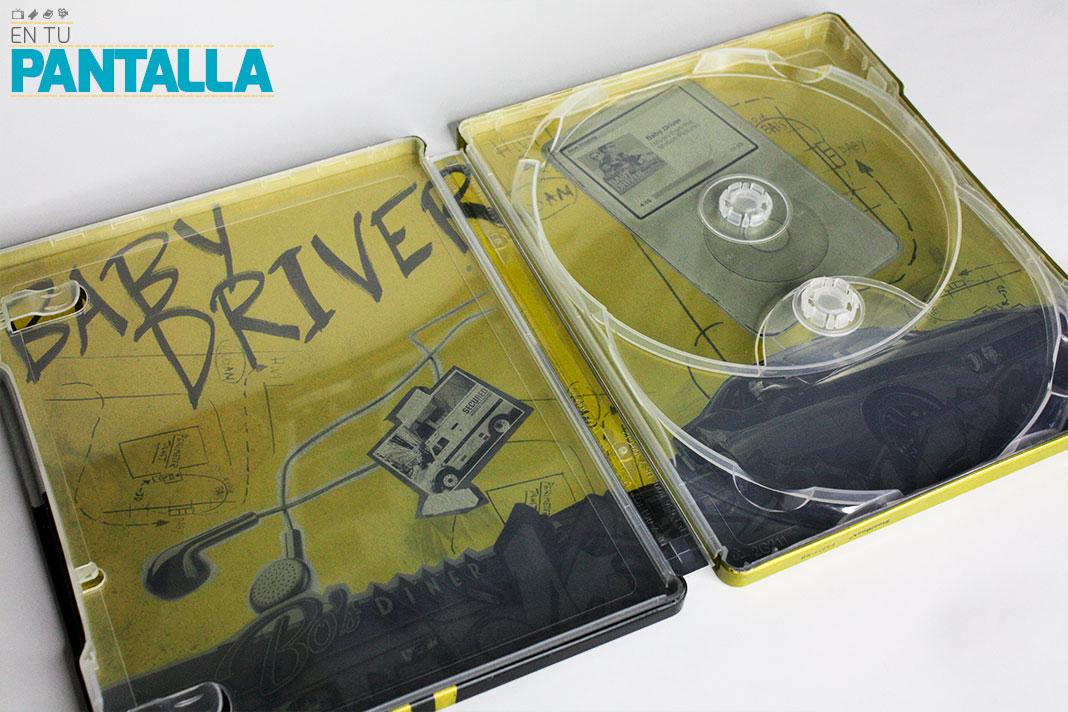 'Baby Driver', un vistazo a la edición Steelbook 4K Ultra HD • En tu pantalla