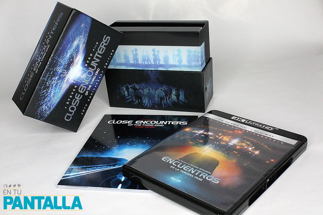 'Encuentros en la tercera fase', un vistazo a la edición 4K Ultra HD [+ Unboxing] • En tu pantalla