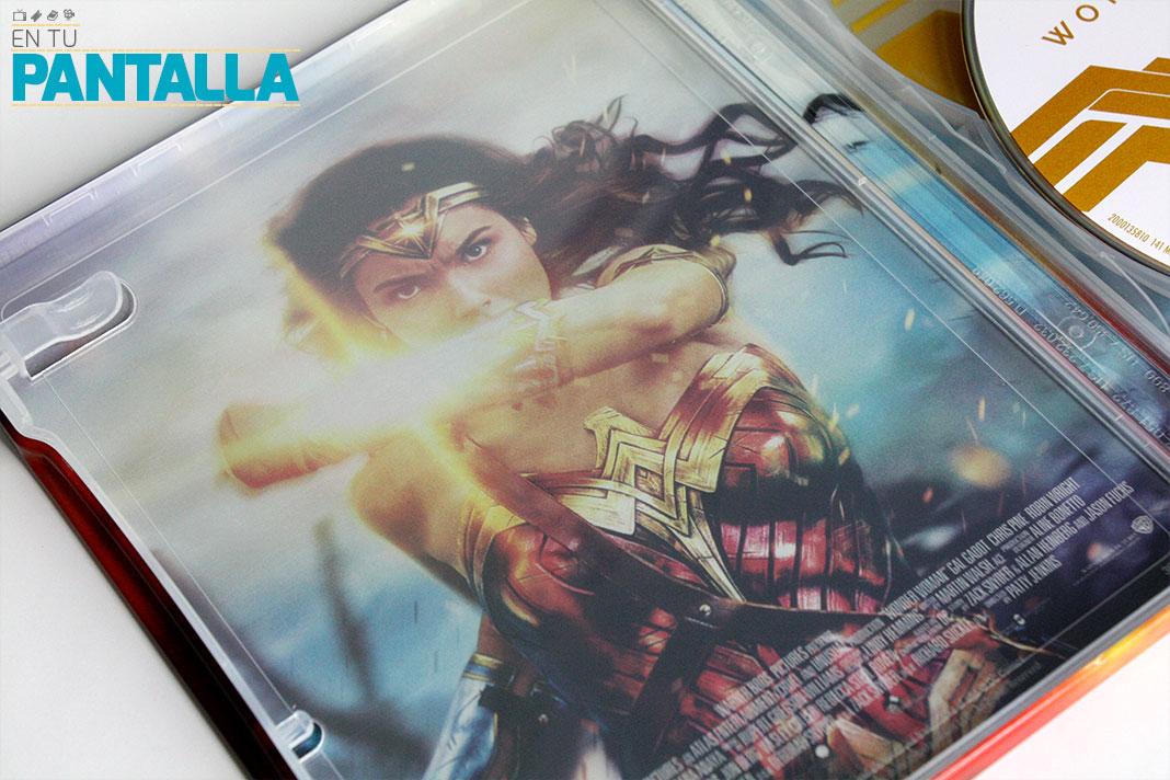 'Wonder Woman': Un Steelbook de lo más especial • En tu pantalla