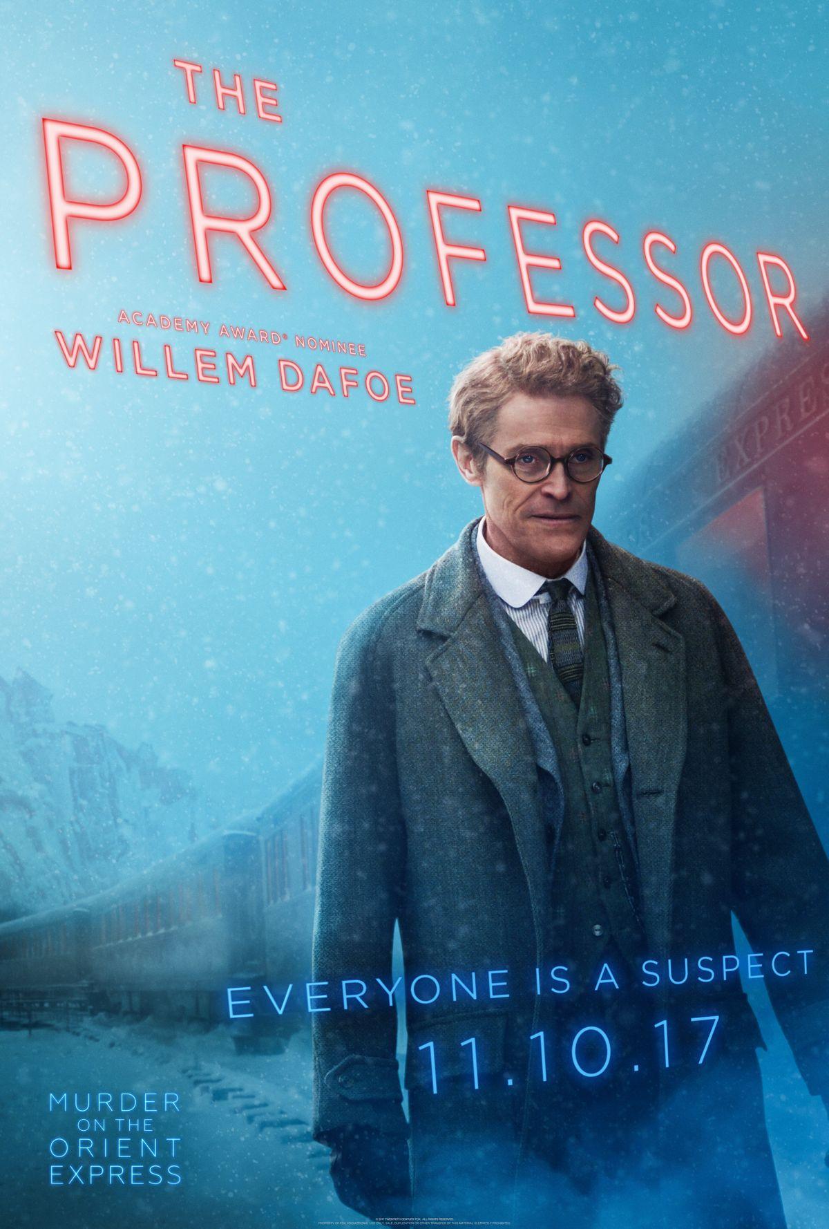 Los 16 personajes de 'Asesinato en el Orient Express' en sus pósters individuales • En tu pantalla