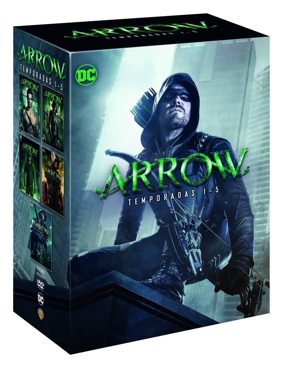 'Arrow: Temporada 5' llega en Blu-ray y Dvd el 15 de noviembre • En tu pantalla
