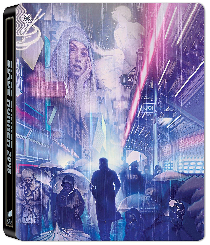 'Blade Runner 2049': Diseño del Steelbook 4K UltraHD + Blu-Ray + Bonus Disc • En tu pantalla