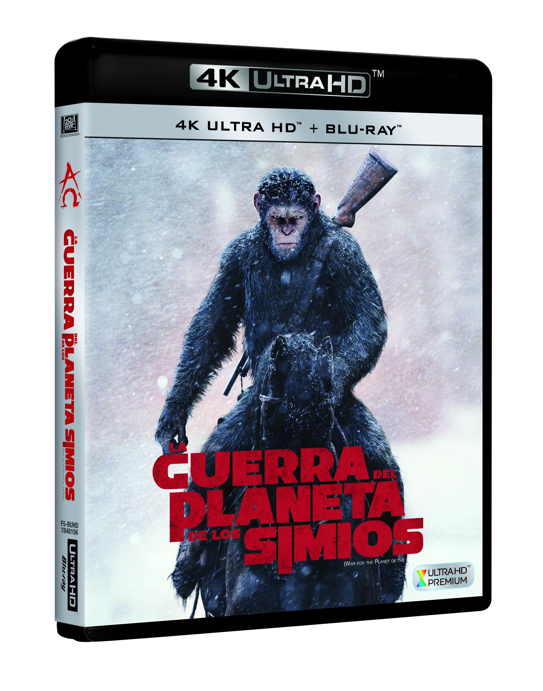 'La guerra del Planeta de los Simios': El 13 de noviembre en 4K, Blu-ray, 3D y Dvd • En tu pantalla