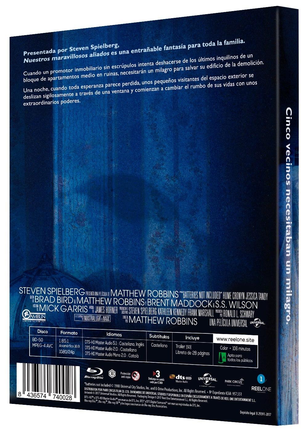 'Nuestros Maravillosos Aliados' llegará en formato Blu-ray el 21 de febrero • En tu pantalla
