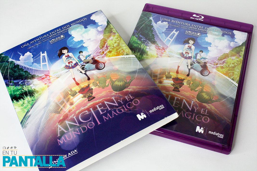 'Ancien y el mundo mágico', un vistazo a la edición Blu-ray • En tu pantalla