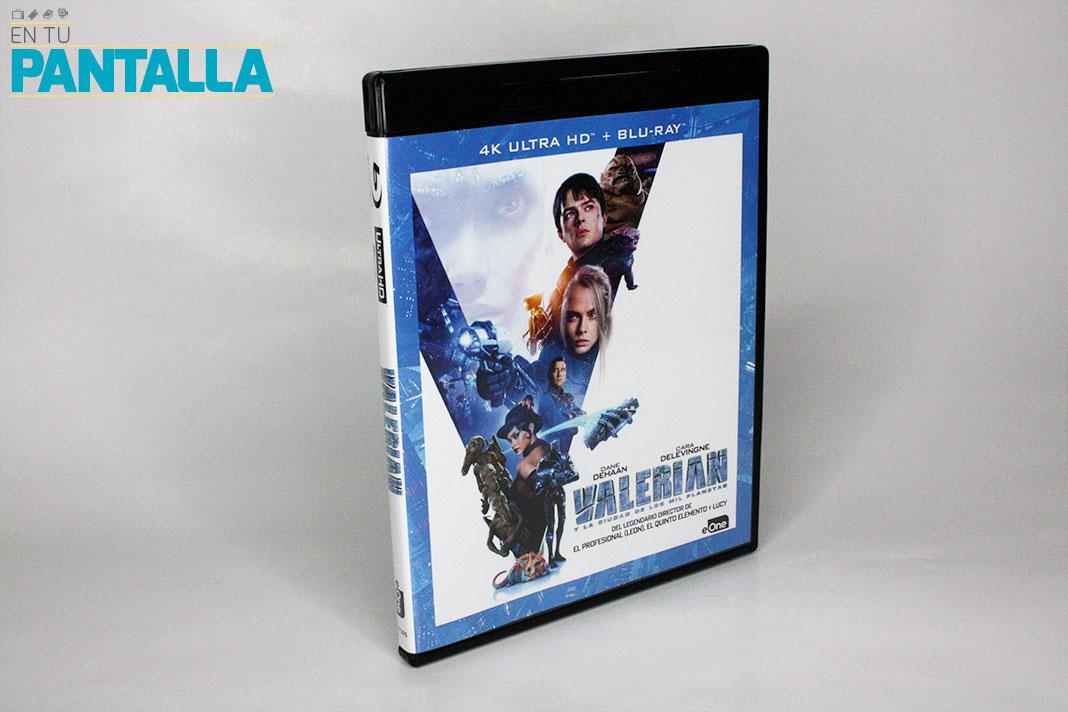 'Valerian y la ciudad de los mil planetas', el primer 4K Ultra HD lanzado por eOne