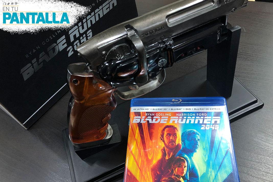 'Blade Runner 2049': Vistazo a la edición Blaster con 4K Ultra HD, 3D, Blu-ray... • En tu pantalla