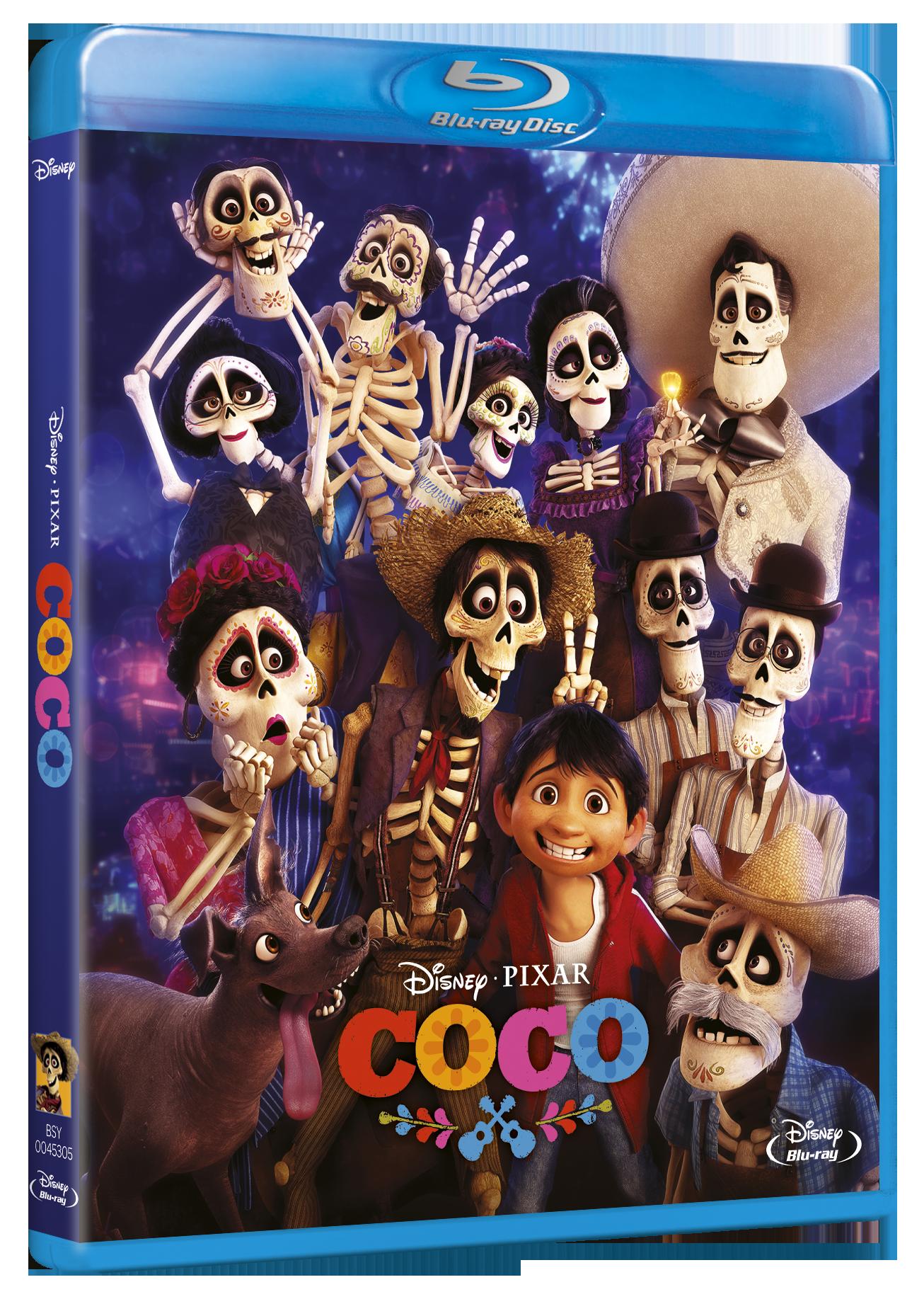 'Coco' llega en Steel, 3D, Blu-ray y Dvd el 4 de abril • En tu pantalla