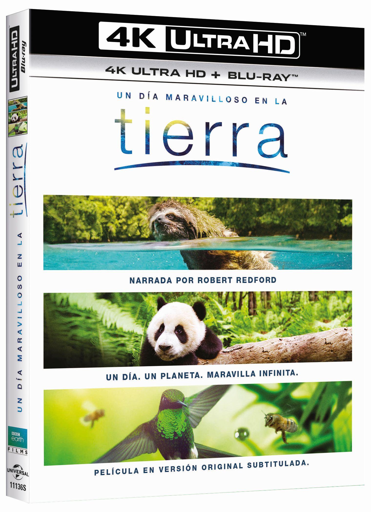 'Tierra: Un día maravilloso' llegará en 4K Ultra HD el 7 de marzo • En tu pantalla