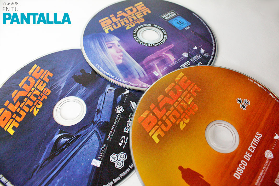 'Blade Runner 2049': Un vistazo al Steelbook 4K lanzado en España