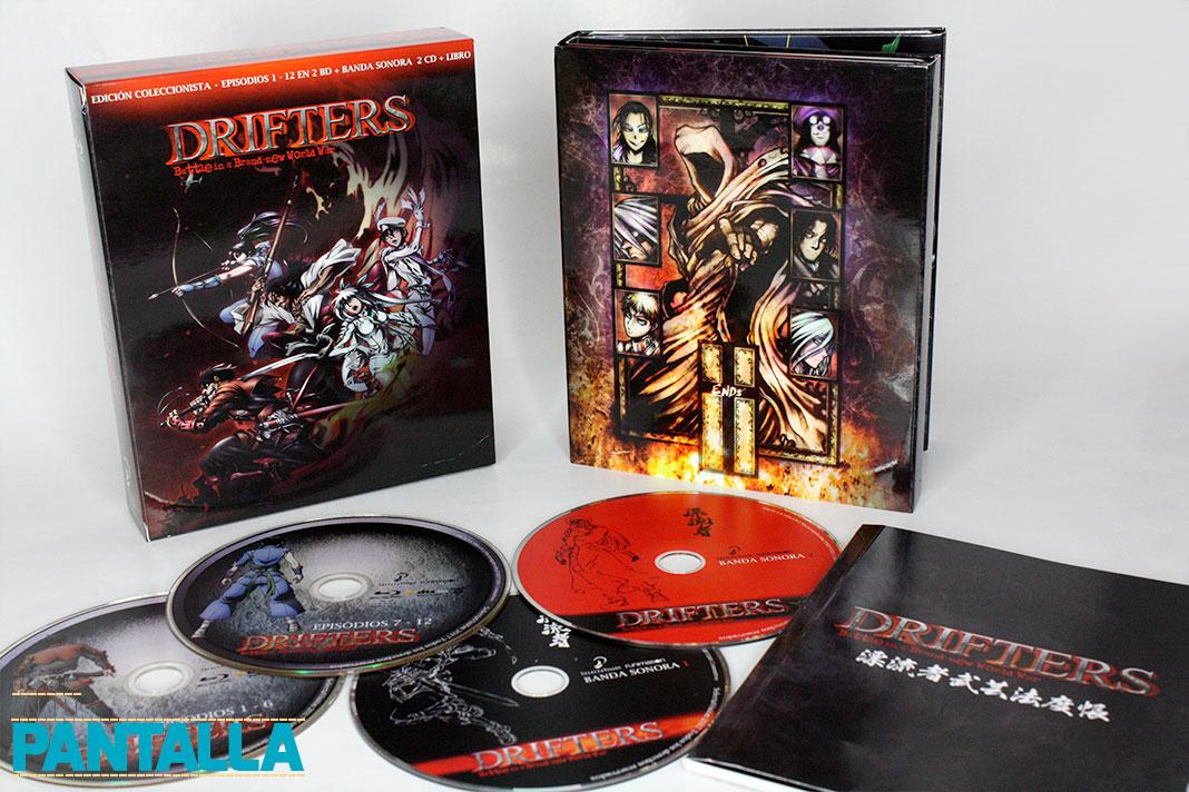 'Drifters': Una edición espectacular por parte de Selecta Visión • En tu pantalla