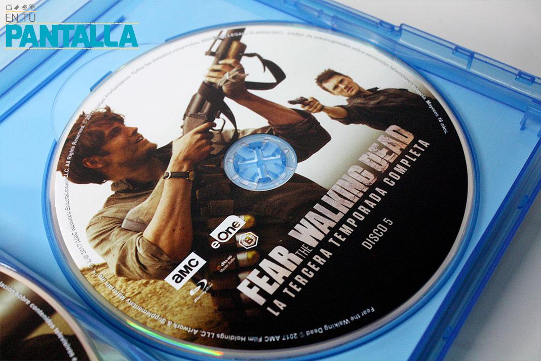 'Fear The Walking Dead: Temp. 3', un vistazo al Blu-ray de eOne • En tu pantalla