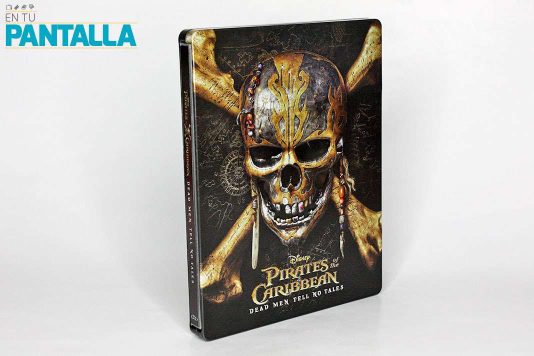 'Piratas del Caribe: La Venganza de Salazar': Un vistazo a la edición Steelbook de USA con 4K Ultra HD • En tu pantalla
