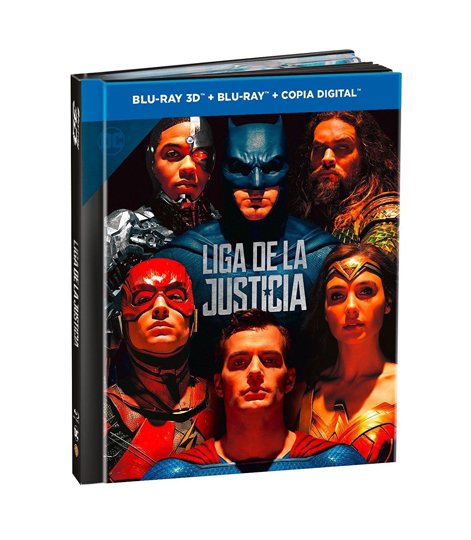 'Liga de la Justicia' llegará con 7 ediciones físicas el 16 de marzo • En tu pantalla