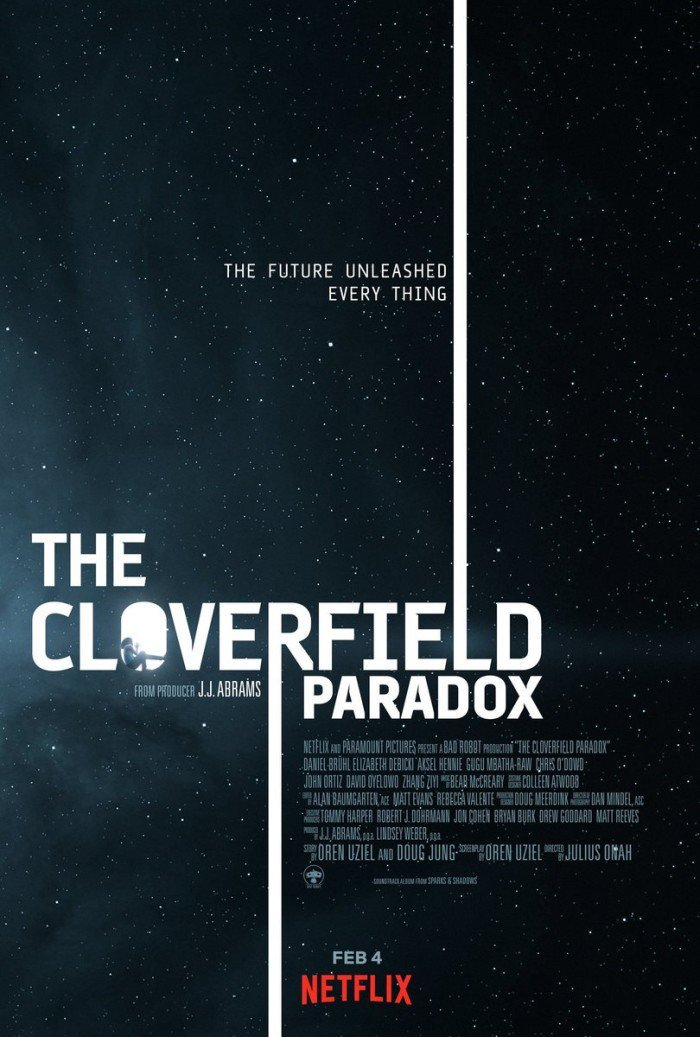 Póster The Cloverfield Paradox