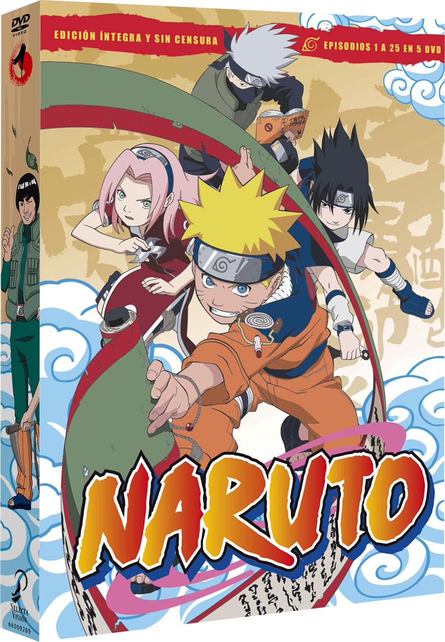 'Naruto', la serie llegará en Dvd el 7 de marzo • En tu pantalla