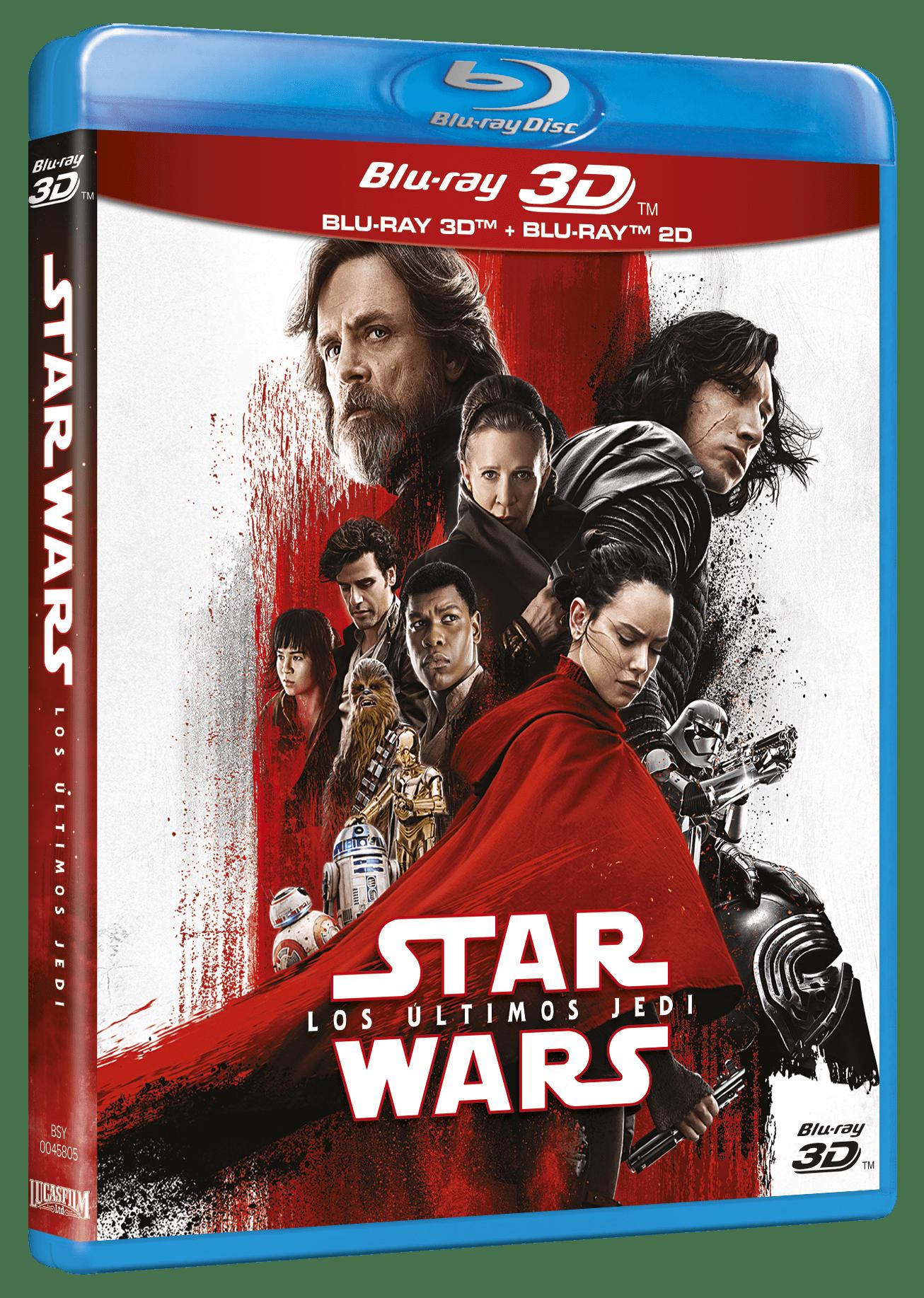 'Star Wars: Los Últimos Jedi' llegará en Blu-ray, Steelbook, 3D y Dvd el 18 de abril • En tu pantalla
