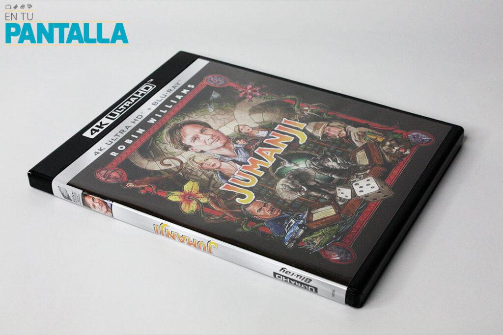 'Jumanji', un vistazo a la edición 4K Ultra HD • En tu pantalla