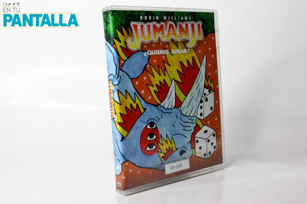 'Jumanji': Una edición ilustrada por Ricardo Cavolo • En tu pantalla