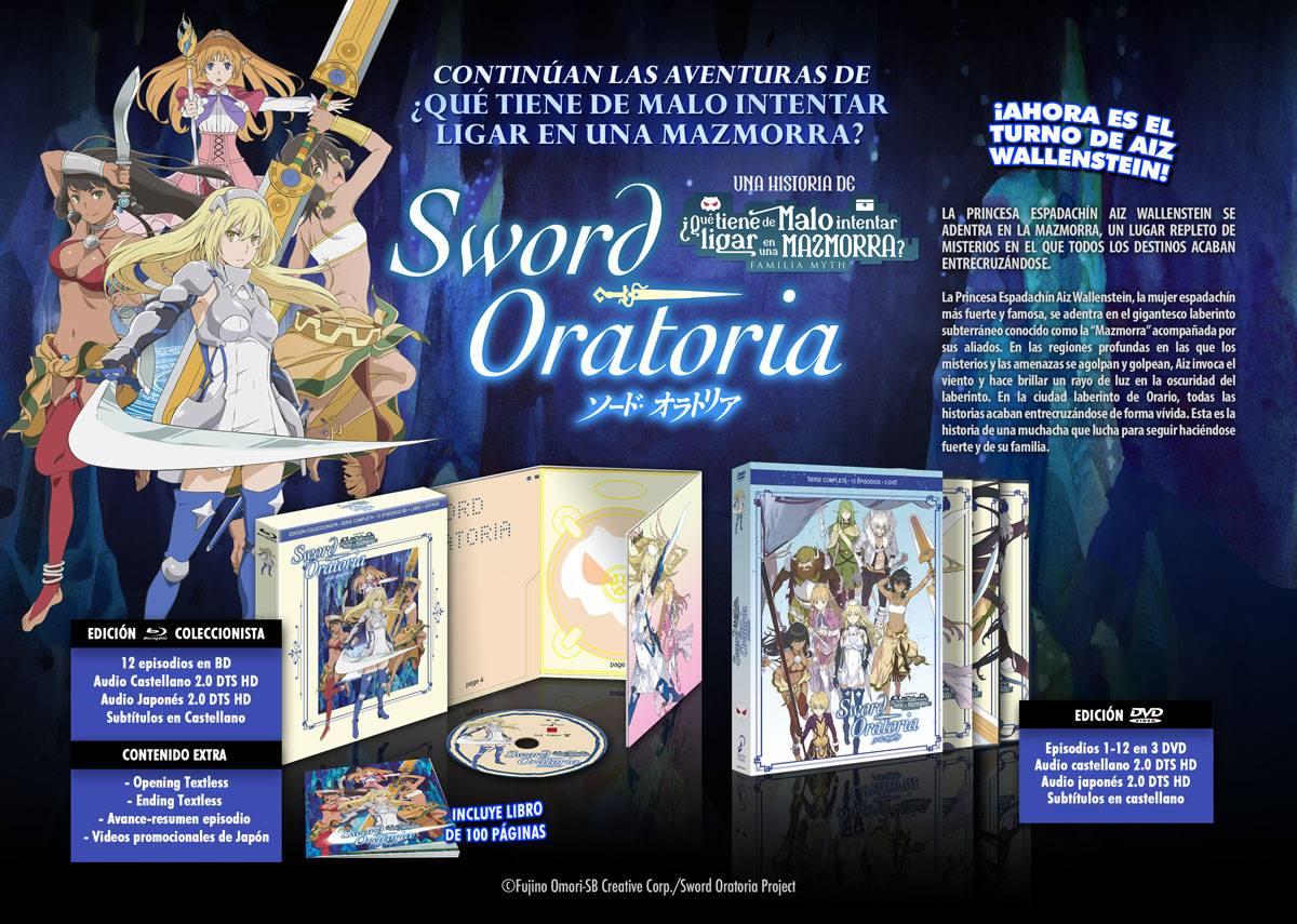 'Sword Oratoria' llegará en Blu-ray y Dvd el 25 de abril • En tu pantalla