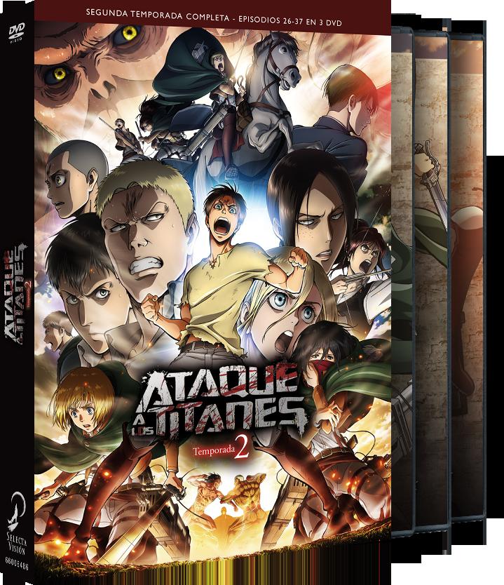 'Ataque a los Titanes, Temp. 2' llegará en Blu-ray y Dvd el 25 de abril • En tu pantalla