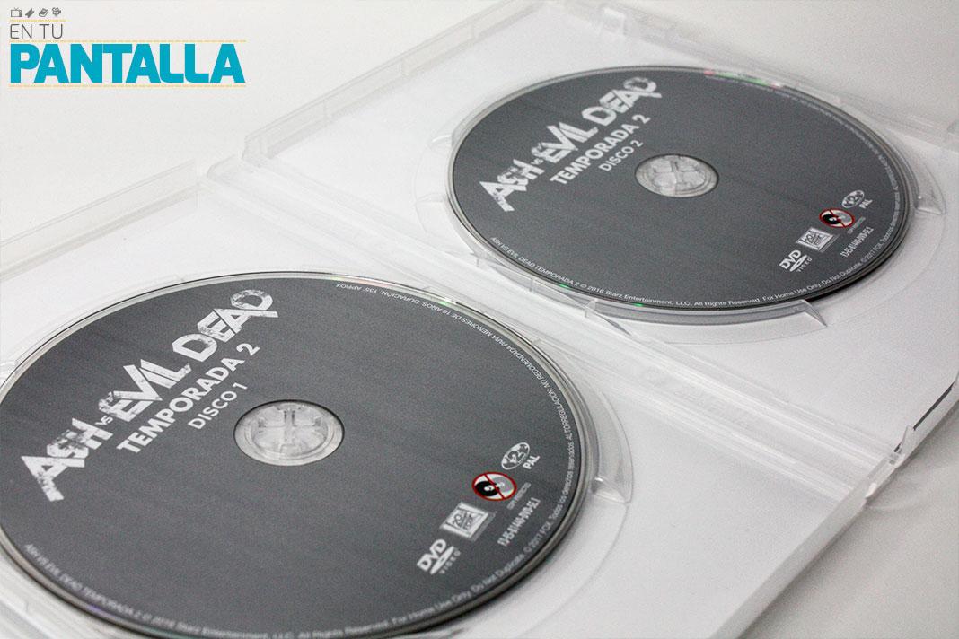 'Ash vs. Evil Dead: Temporada 2', un vistazo a la edición Dvd • En tu pantalla