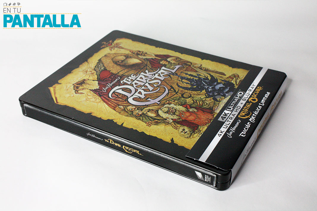 'Cristal Oscuro': El Steelbook con 4K Ultra HD