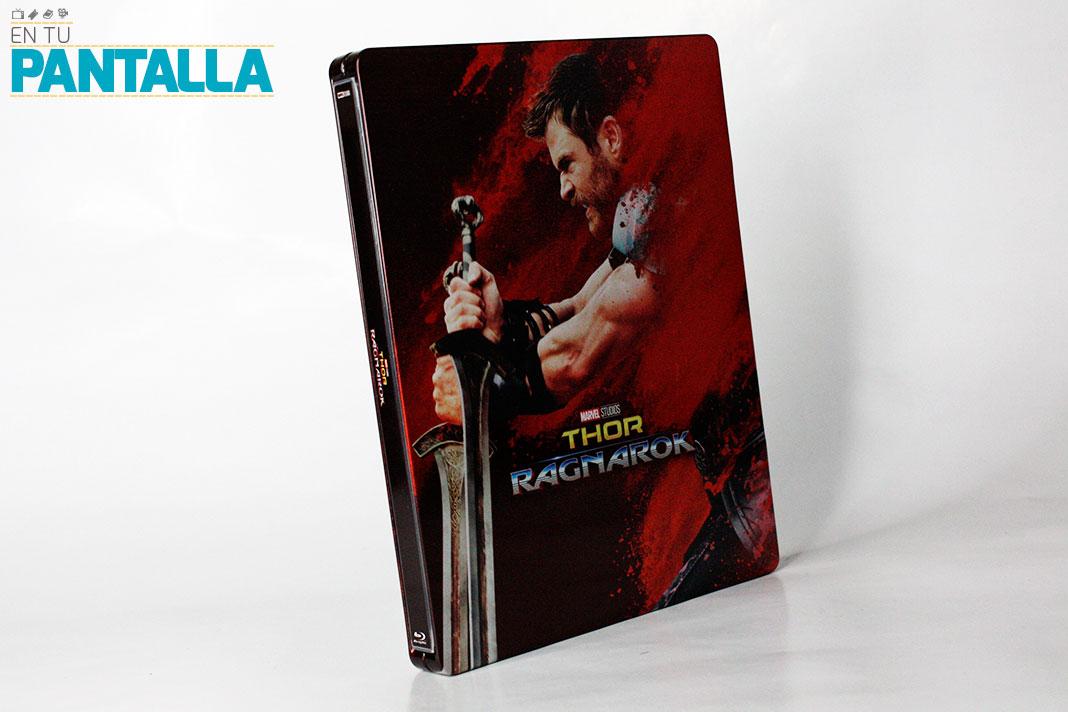 'Thor: Ragnarok', un Steelbook con 4K Ultra HD [Exclusivo Zavvi] • En tu pantalla