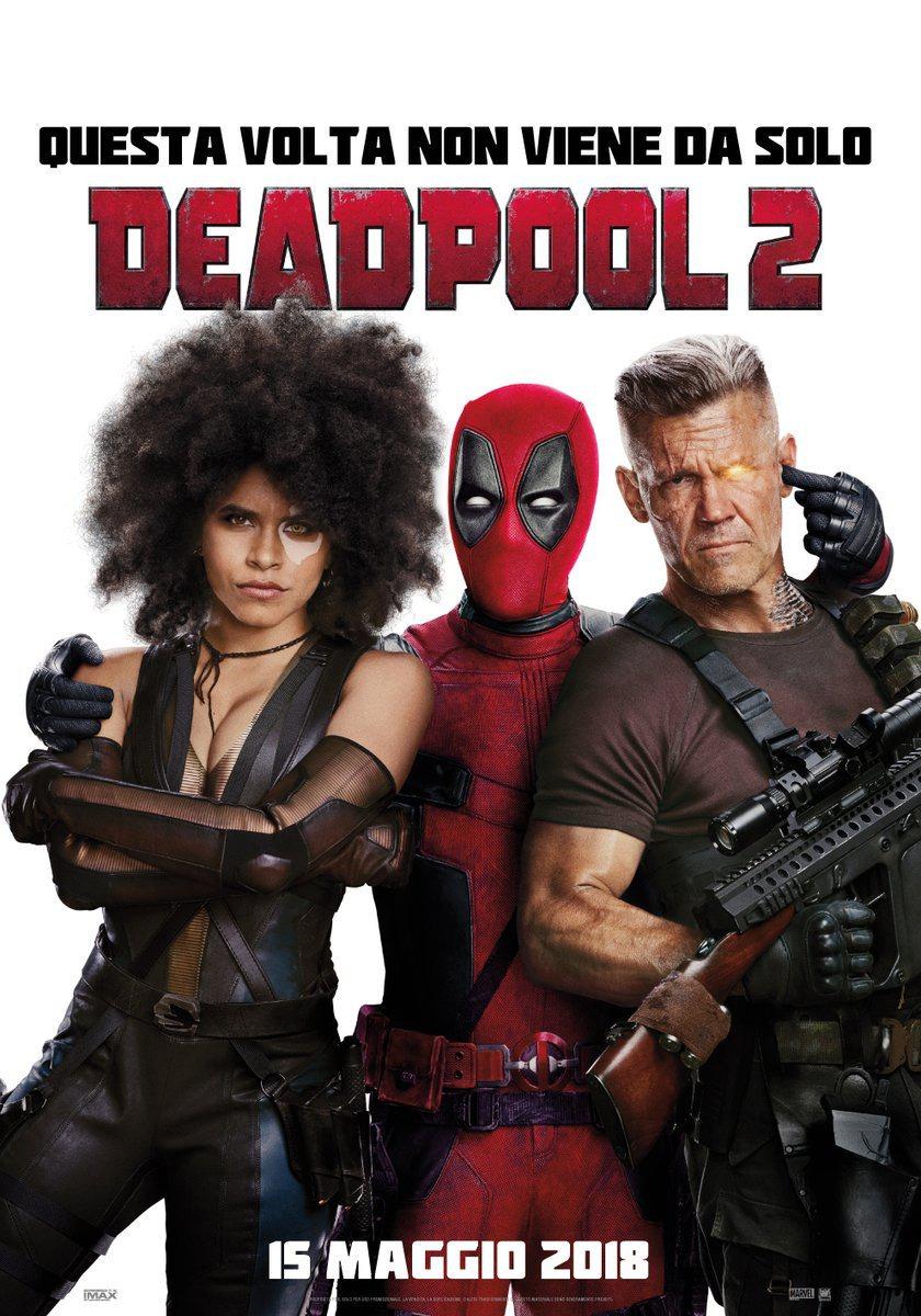 'Deadpool 2': Nuevo tráiler y póster. ¡Cable y Domino! • En tu pantalla