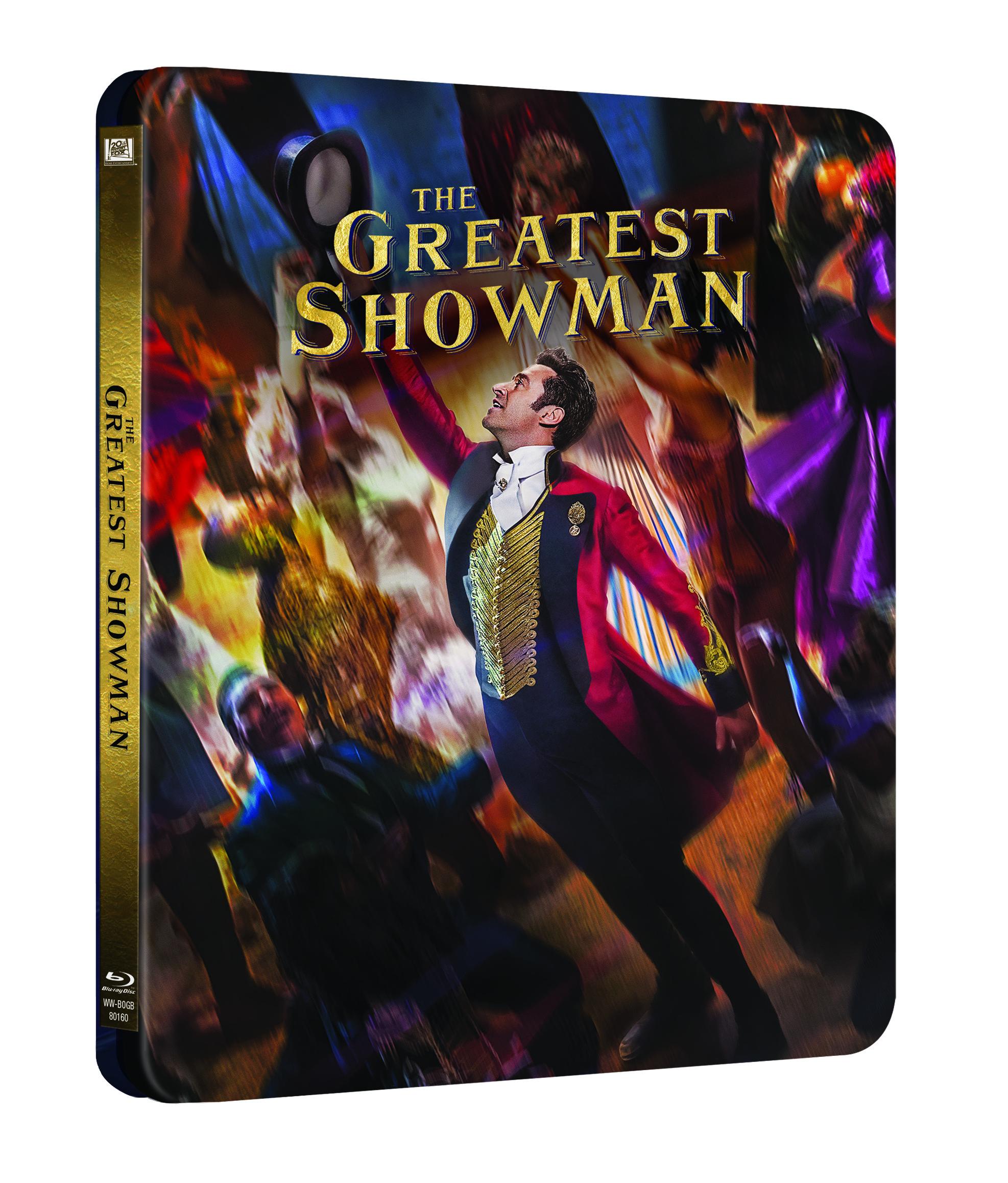 'El Gran Showman' llegará en 4K Ultra HD, Blu-ray, Steelbook y Dvd el 2 de mayo • En tu pantalla
