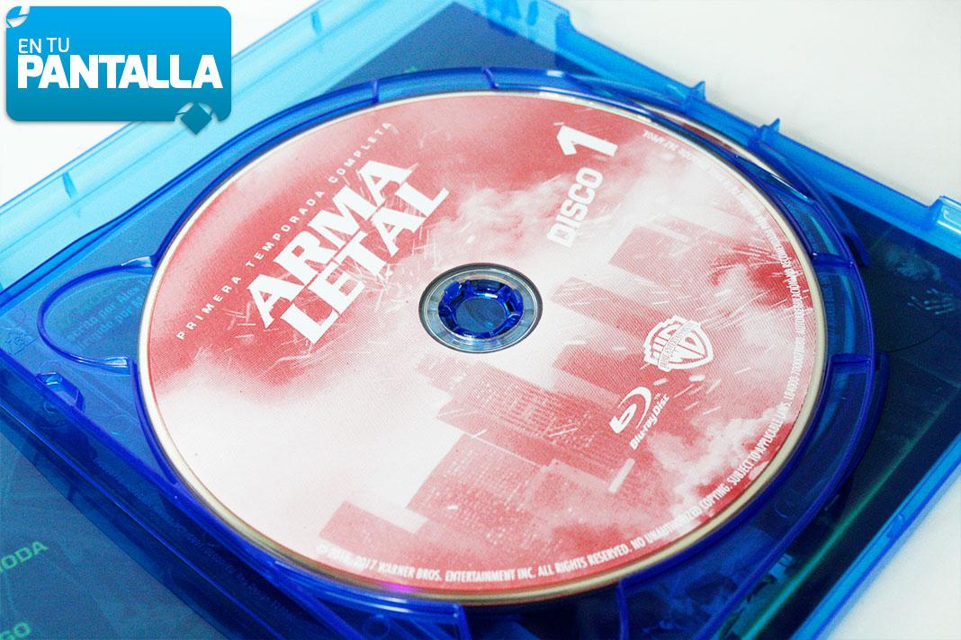 'Arma Letal: Temp. 1', un vistazo al Blu-ray de Warner Bros • En tu pantalla