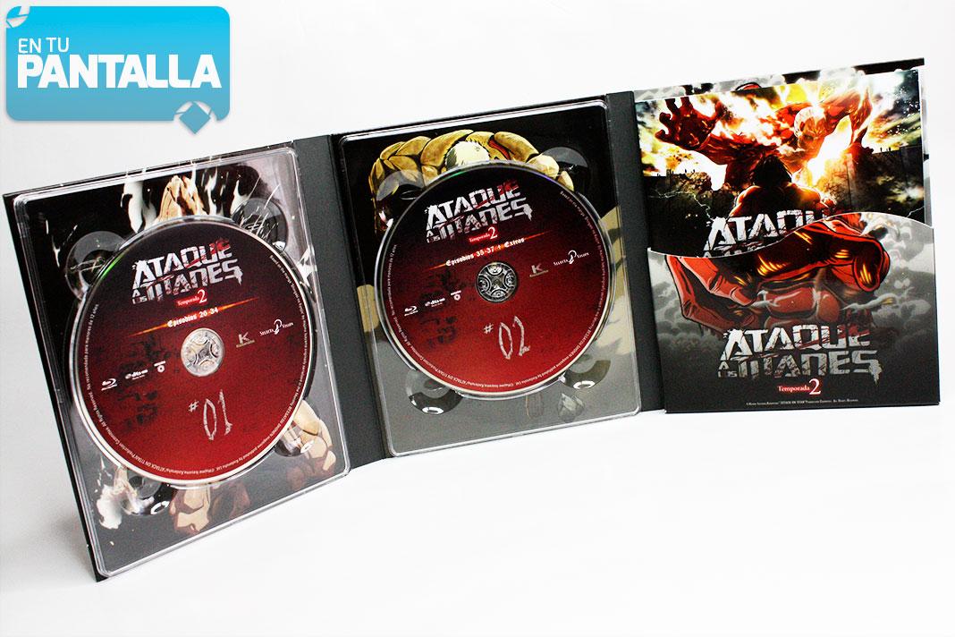 'Ataque a los Titanes, Temp. 2': Dentro de la edición coleccionista de Selecta Visión • En tu pantalla