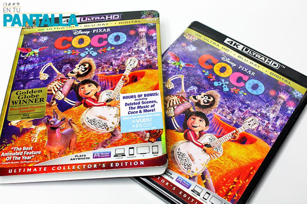 'Coco', un disco 4K lleno de color [Edición USA] • En tu pantalla