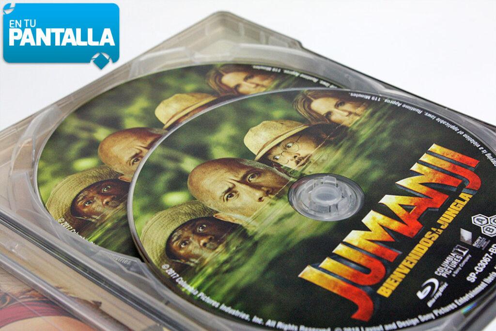'Jumanji: Bienvenidos a la jungla', analizamos el Steelbook 3D + 2D • En tu pantalla