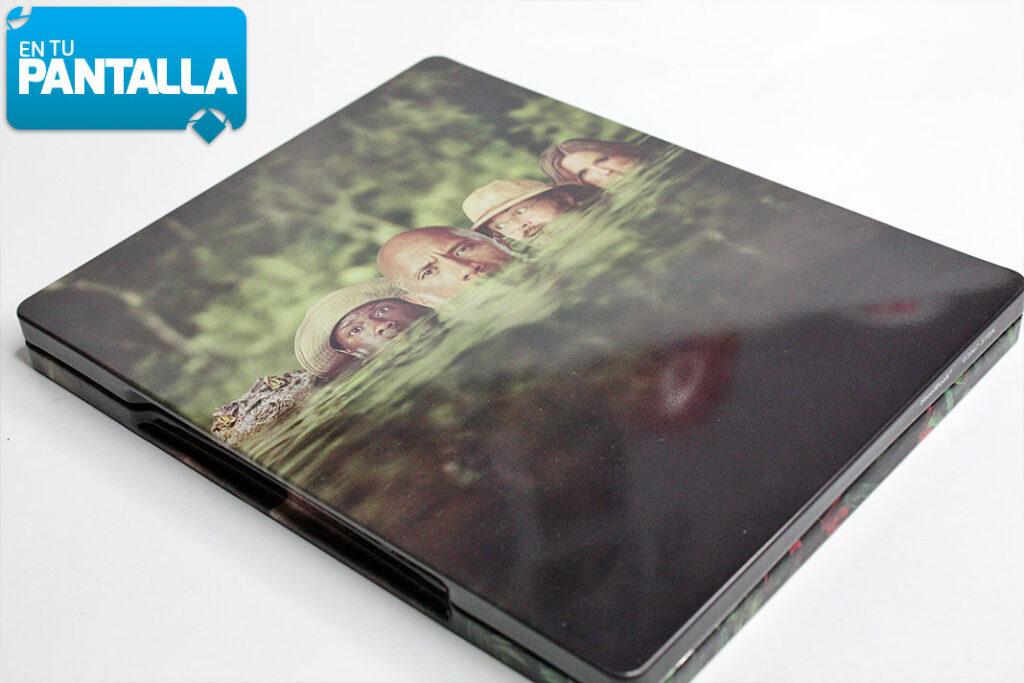 'Jumanji: Bienvenidos a la Jungla': Un precioso Steelbook 4K Ultra HD • En tu pantalla
