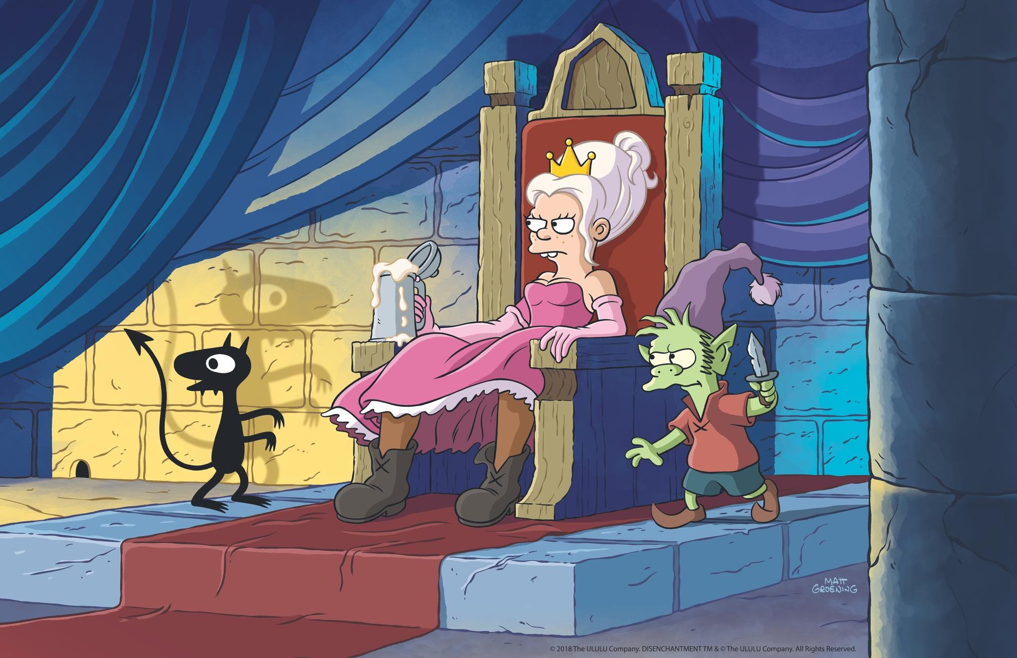 'Des(encanto)' presenta sus primeras imágenes, la nueva serie de Matt Groening • En tu pantalla